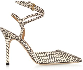 Tory Burch King Cobra Penelope 100mm Ankle Strap Pump