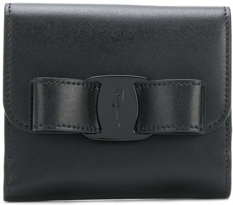 Salvatore Ferragamo clasp detail wallet