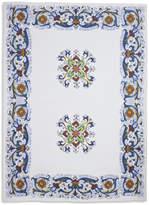 Sur La Table Deruta-Style Linen Kitchen Towel