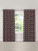 Skyline Furniture Floral Unlined Linen Curtain