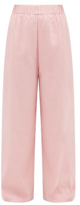Marrakshi Life - Palazzo Cotton-blend Trousers - Pink