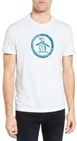 Original Penguin Men's Distressed Circle Graphic T-Shirt
