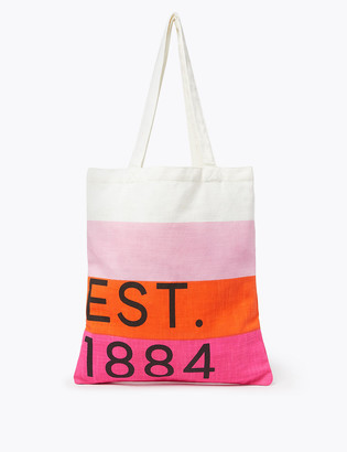 Marks and Spencer Pure Cotton Canvas Shopper Bag