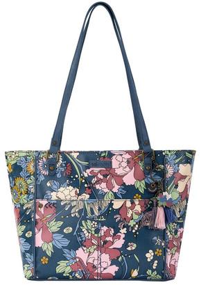 The Sak 108339DENFLO Artist Circle Double Handle Tote Bag