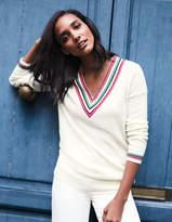 Boden Pavillion Cricket Sweater