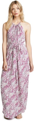 Ramy Brook Women's Naomi Snake Print Maxi Dress