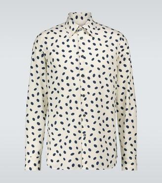 Marni Bubble cotton poplin shirt