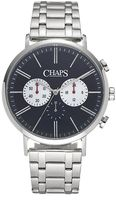 Chaps Men's Dunham Stainless Steel Chronograph Watch