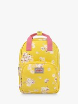 Cath Kidston Cath Kids Children's Daisy Rose Medium Backpack, Sunshine Yellow