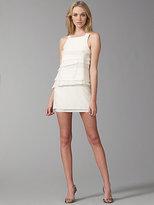Vena Cava Tiered Silk Mini Dress
