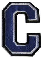 "Embroidered ""C"" Letter Patch"