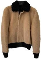 Saint Laurent Beige Shearling Jackets