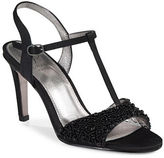 Adrianna Papell Alia Beaded T-Strap Sandals