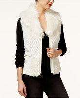 GUESS Gabby Faux-Fur Vest