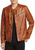 John Varvatos Leather Moto Jacket - 100% Exclusive