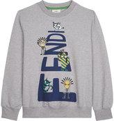 Fendi Cartoon cotton sweatshirt 4-14 years
