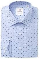 Ben Sherman Clip Spot Florentine Tailored Slim Fit Dress Shirt