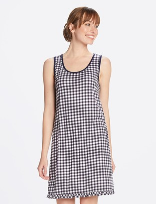 Draper James Gingham Sleeveless Chemise