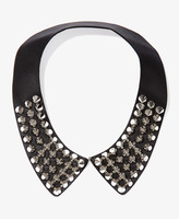FOREVER 21 Spiked Faux Leather Collar
