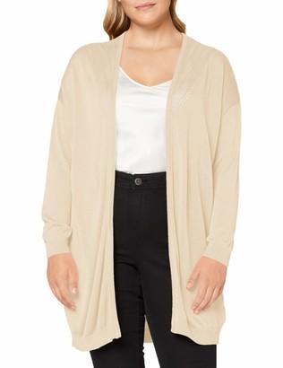 ONLY Carmakoma Women's CARKATH L/S Cardigan KNT Sweater