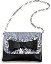 Capelli Girls' Glitter Bow Bag