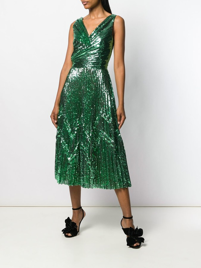 Thumbnail for your product : Marco De Vincenzo Sequin Cocktail Dress