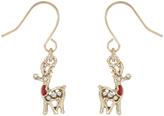 Accessorize Reindeer Short Drop Earrings
