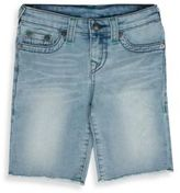 True Religion Baby's Faded Denim Shorts