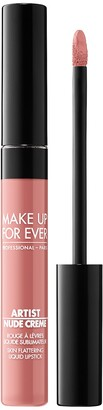 Make Up For Ever Artist Nude Creme Liquid Lipstick