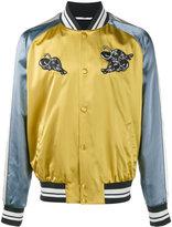 Valentino panther appliqué bomber jacket