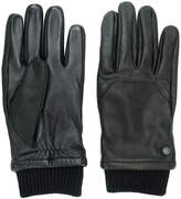 Canada Goose ribbed cuff gloves
