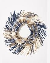 Charming charlie Plaid Boucle Infinity Scarf
