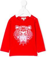 Kenzo Tiger top - kids - Cotton/Spandex/Elastane - 3 mth