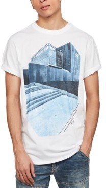G Star Men's Lash Building Graphic T-Shirt, Created for Macy's