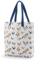 Sur La Table Jacques Pepin Collection Assorted Chickens Tote Bag