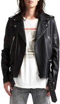 Ksubi Loathing Biker Jacket