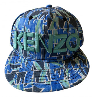 Kenzo Blue Polyester Hats & pull on hats