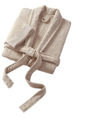 VCNY Home Ribbed Luxury Cotton Bath Robe, Multiple Colors and Sizes Available