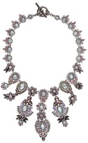 Marchesa Ornate Drama Collar Necklace, 16""
