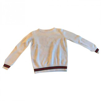 Gucci White Cotton Knitwear