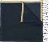 Paul Smith fringed edge scarf - men - Cotton/Linen/Flax - One Size
