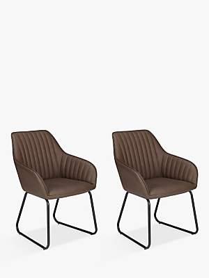 John Lewis & Partners Brooks Dining Armchairs, Set of 2