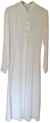 The Line By K White Cotton Top for Women