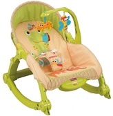 Fisher-Price Newborn-to-Toddler Portable Rocker Carriers Travel