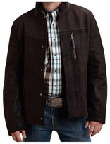 Stetson Western Jacket Mens Suede Leather S 11-097-0539-6604 BR