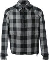 Lanvin checked jacket - men - Cupro - 46