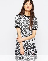 Asos Le Kilt For Lip Print T-Shirt