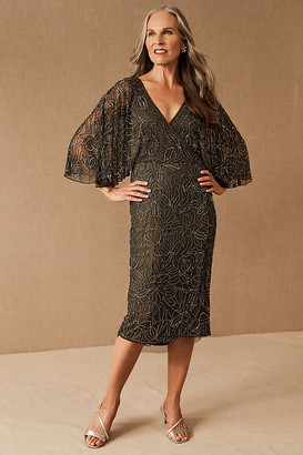 BHLDN Hannon Dress By in Green Size 0
