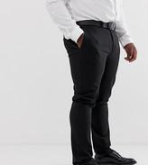 Asos Design DESIGN Plus super skinny smart trousers in black