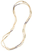 """Carolee Battery Park Beaded Necklace, 60"""""""